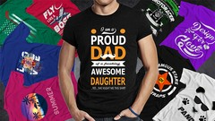 Design awesome t-shirt from zero to hero on Photoshop