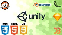Learn to Build some Shooter games with Unity® and Blender!