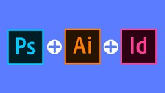 Adobe pack the  basics Photoshop + Illustrator + InDesign