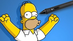 How to draw in the SIMPSONS style