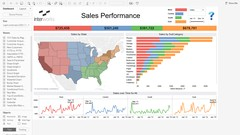 Tableau for Data Visualisation and Story Telling