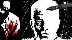 How to draw in the SIN CITY style