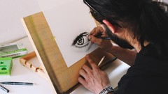Draw a Hyper Realistic Eye & Tear with the Two Pencil Method