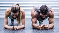 Athletic Workout HIIT and Scientific Nutrition living health