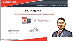Practice Tests to get 2019 Comptia A+ Certification 220-1001