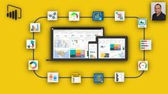Microsoft Power BI - Business Intelligence & Data Analysis