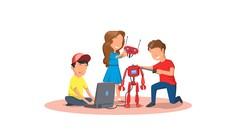 Çocuklar için mBOT ile ROBOTİK