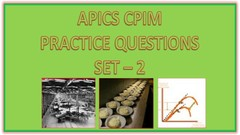 APICS CPIM Practice Tests -2 (4 Kits - 175 Questions)