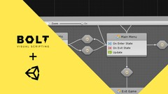 Create a Start Menu with Bolt in Unity using State Graphs