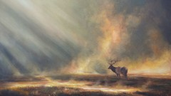 Learn to Paint an Elk in Mist Step-by-Step