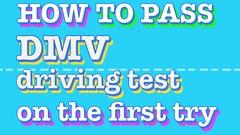 DMV Knowledge Test -New Jersey