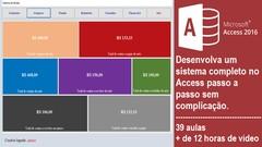Vídeo Curso de Access - Criando um sistema de venda completo