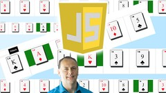 JavaScript Card War Game Project Course