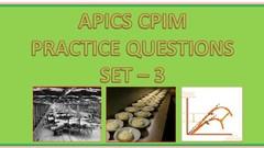 3. APICS CPIM Practice Tests (Mega Kits - 175 Questions)