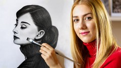 Masterclass of Realistic Drawing and Shading Human Features