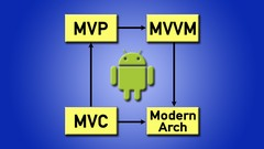 Pro Android: Modern Android Architectures - MVVM MVP MVC