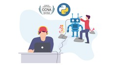 3 in 1! Cisco CCNA, Python Programming, & Network Automation