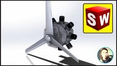 Imágen de Curso de Solidworks módulo de  ensamble | Motor Estrella