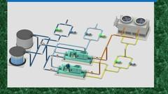 centrifugal chiller: operation,Designing using Revit 2019
