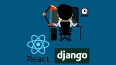 React, Django: Full Stack dev - web app, back-end API | Udemy