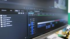 Imágen de Edición de video con Adobe Premiere Pro