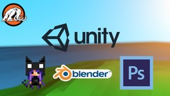 Create a 2D Platformer with 3D assets in Unity® and Blender!