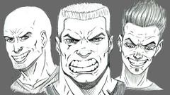 Curso de Desenho Módulo 01 -  Desenho do Rosto Masculino