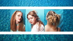 Teen Hairstyles: Crimping and Scrunching 90's remix!
