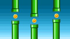 Create a 2D flappy bird style game in unity