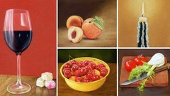 Draw Still Life with Pastel Pencils - 5 Course Bundle!