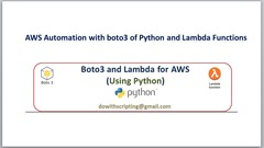 AWS Automation with boto3 of Python and Lambda Functions | Udemy