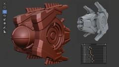 Imágen de EXPERTO en Modelado de Assets 3D HARD SURFACE y Blender 2.8