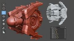 Imágen de Blender 2.8 EXPERTO en Modelado de Assets 3D HARD SURFACE