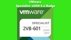 2VB-601 VMware Specialist: vSAN 6.x Badge Exam GOLDEN PREP