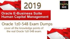 Oracle 1z0-548  Exam Dumps