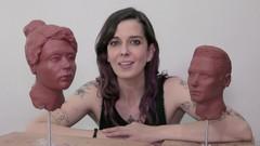 Aprende a esculpir la cabeza humana (femenina y masculina)