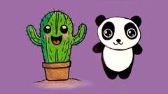 Curso de Desenho kawaii fofinhos para Crianças