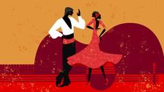 Imágen de Bailar flamenco por tangos - Coreografía baile completo