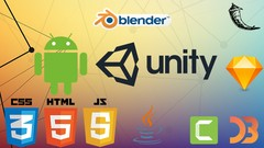 Epic Video Game Apps! Create with Unity, Blender, & Android!