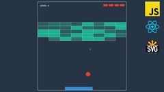 Breakout Game with JavaScript, React and SVG