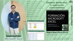 Microsoft Excel básico hasta avanzado, incluye Power BI.