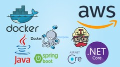 Docker para Amazon AWS Implante Apps Java e .NET + Travis CI