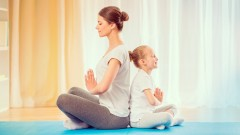 Do yoga with your kids!