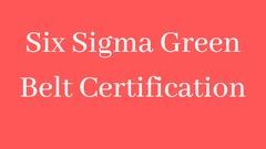 IASSC: ICGB Lean Six Sigma Green Belt Certification Test