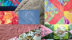 Teach Yourself To Machine Quilt Free Motion Feathers