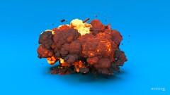 Houdini FX Explosión de Lego
