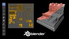 Imágen de Blender 2.8 EXPERTO en UV Mapping de Assets para Videojuegos
