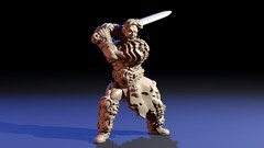Imágen de Escultura de miniaturas con Blender 2.8x