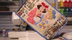 Crea un Cobertor para tu máquina de coser en Patchwork