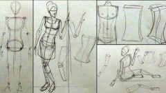 Drawing Human Actions to Master Figure Drawing and Painting